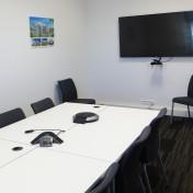 Salle de réunion locaux Rennes groupe Pierreval