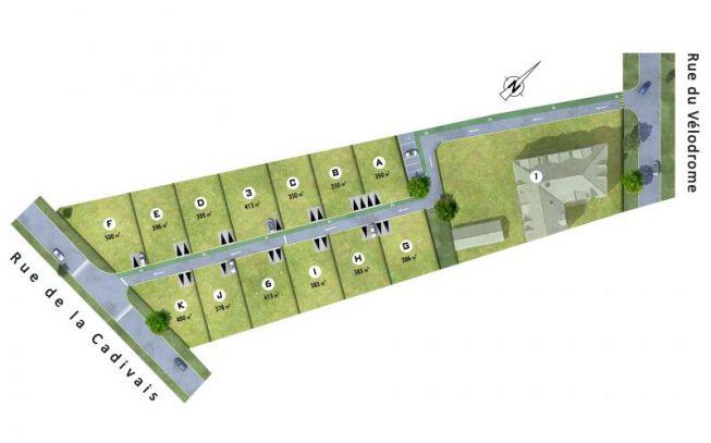 Pontchâteau - Plan de compo