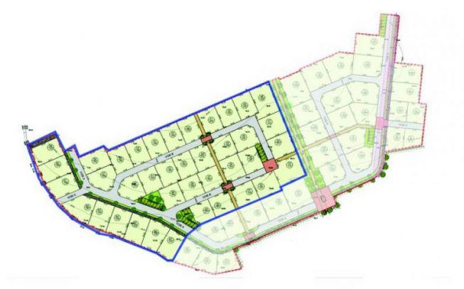 Le Domaine des Sens 2 Tranche 2 - Plan masse - Groupe Pierreval
